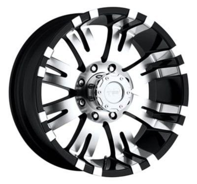 PXA8101-7985 - Pro Comp Xtreme Alloy 8101 PXA8101-7985 Spoke design Gloss Black Finish Aluminum Alloy Wheel - 17 in. Wheel Diameter X 9 in. Wheel Width, 5 x 5.5 -