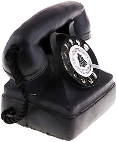 7111-39 1x Antique Telephone Retro Old Fashioned Home Office Dial Phones