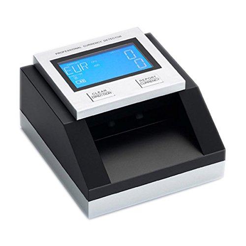 Yatek Detector Billetes Falsos Euro, Dolar, Libras y SEK Cuenta y Suma Billetes, actualizable, testado 100% por el BCE, acepta Billetes nuevos de 50 ...