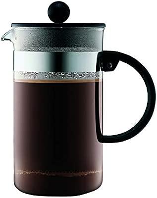 Bodum Bistro Cafetera émbolo, Negro, Centimeters: Amazon.es: Hogar