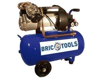 Compresor coaxial V 50 L, cabezal EN V, 3 CV, monofásica: Amazon.es: Bricolaje y herramientas