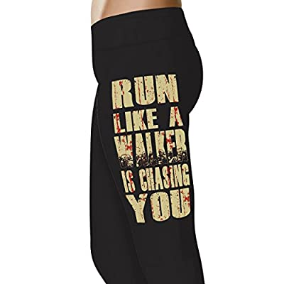 Top YouStatement Run Like A Walker Premium Gym Running Soft Cotton Tights Leggings and Capris supplier
