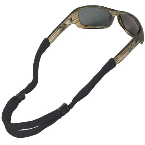 Chums No Tail Adjustable Eyewear Retainer, Black
