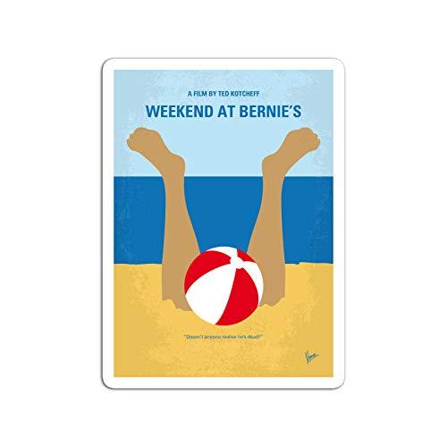 KoutYukshop Sticker Motion Picture No765 My Weekend at Bernies Minimal Movie Two L Movies Video Film (3