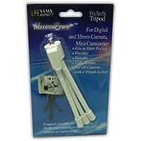 MaximalPower Mini WHITE Flexible Tripod for Canon, Nikon, Sony, Olympus, Panasonic, Kodak Cameras