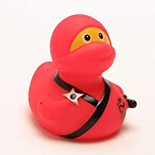 Rubber Duck Ninja red Bath Duck