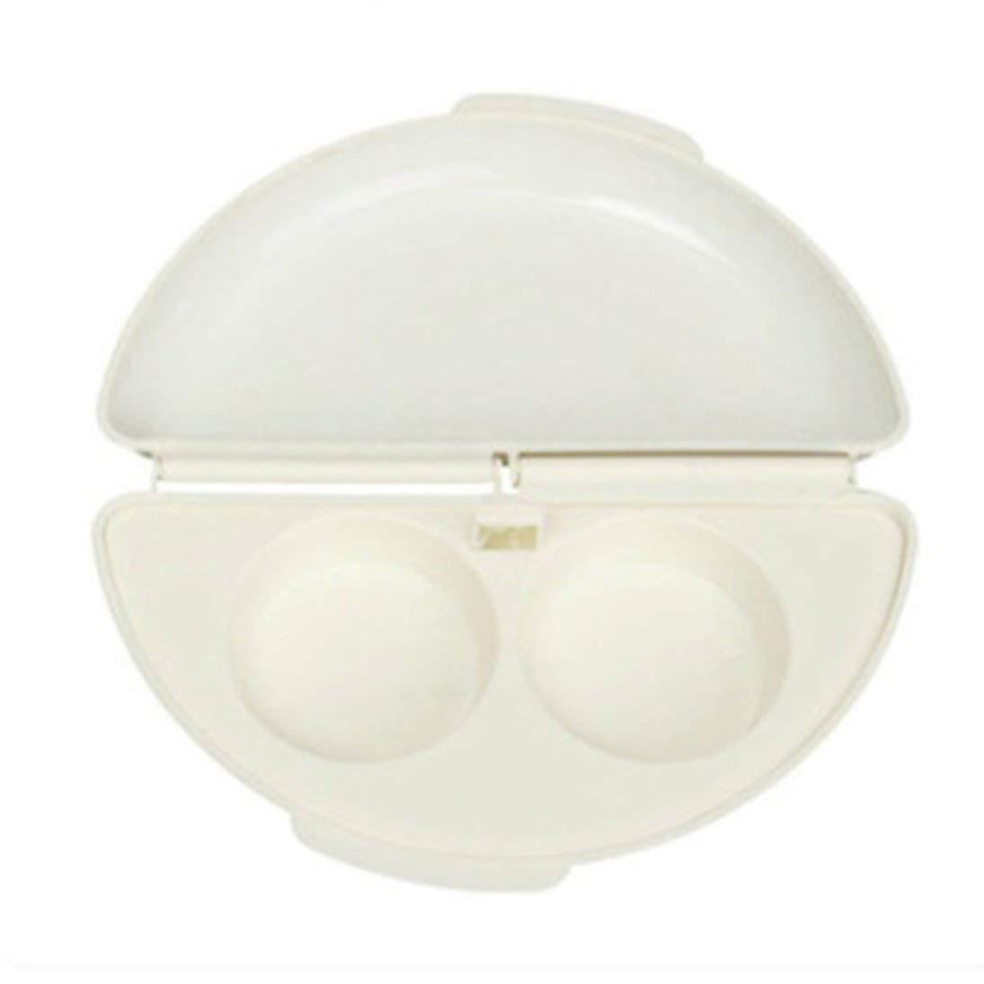 ToGames-DE Mikrowellen-Omelett-Kocher Nü tzliche Tragbare Eier Steamer Pan Eggs Wilderer