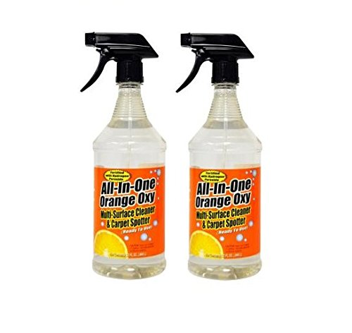 Maintex All-in-1 Orange Oxy Multi-Surface Cleaner 32 oz trigger, 2 pack bundle ()