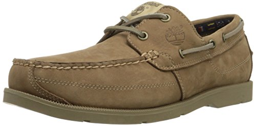 Timberland Mens Earthkeepers Kiawah Bay Boat Shoe Light Taupe / Taupe