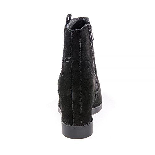 Ash Schuhe Goldie Boots aus Wildleder Schwarz Damen Schwarz