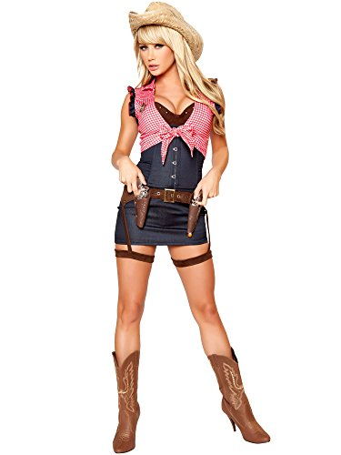 Sexy Cowgirl Costumes (Cowgirl Cutie Adult Costume - Small)