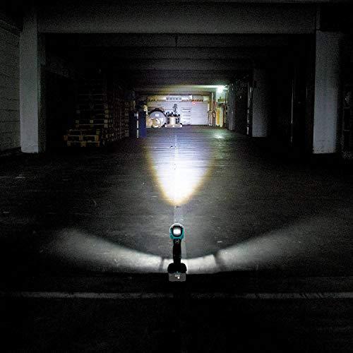 Makita DML808 18 V//14.4 V LXT torche réglable Faisceau Lumière DEL pivot 200 lm