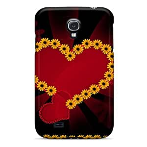 Brand New S4 Defender Case For Galaxy (flower Heart) by Maris's Diary