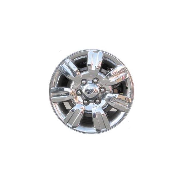 18 Inch 2009 2010 2011 2012 Ford F150 Truck Factory Original OEM Chrome Clad Wheel Rim AL3J1007CA 3785 560 03785 18x7.5