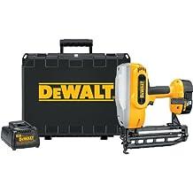 DEWALT DC616K XRP 18-Volt Cordless 1-1/4-Inch - 2-1/2-Inch 16 Gauge Straight Finish Nailer Kit