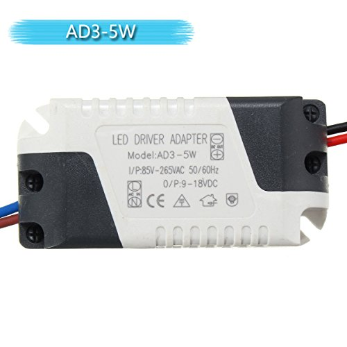 Led Drivers - Ac85-265v To Dc9-18v 3-5w 300ma Led Light Lamp Driver Adapter Transformer Power Supply - Led Driver Adapter Model 3 15 1 Transformer Meanwell - Lighting Power Supply - 1PCs - Armed Lamp