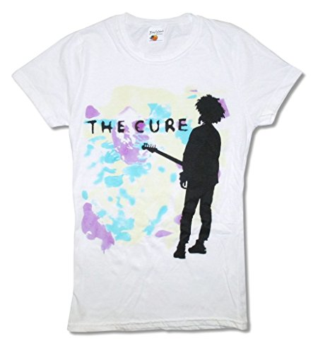 The Cure Boys Don't Cry Girls Juniors White T Shirt (L)