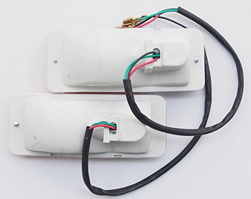y repetidores Conjunto de luces traseras m/ás indicadores intermitentes delanteros delanteras izquierdas y derechas