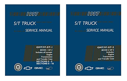 Oldsmobile Bravada Service Shop Manual (1997 Chevrolet GMC S 10-15 Truck Oldsmobile Bravada Shop Service Repair Manual)