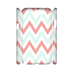Coral Chevron 3D-Printed ZLB550991 Unique Design 3D Phone Case for Samsung Galaxy Note 2 N7100