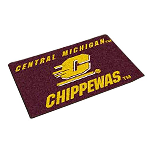 Central Michigan Starter Rug (Fanmats Home Indoor sports Team Logo Mat Central Michigan Starter Rug)