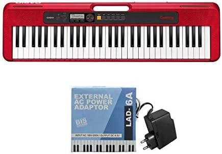 Casio CT-S200RD - Teclado de piano, Rojo