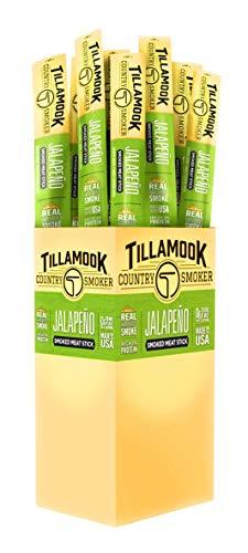 - Tillamook Country Smoker Beef Jerky Jalapeno Stick 24-1oz Individually Wrapped Sticks. 1.5LBS Total Bulk