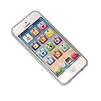 YOYOSTORE Child's Interactive Mi primer teléfono celular interactivo: juegue para aprender, toque la pantalla con 8 funciones y deslumbrantes luces LED. ¿Por el cielo? Belleza