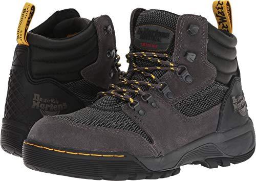 Dr Martens Grip - Dr. Martens Work Unisex Rapid Steel Toe 6-Tie Boot Dark Shadow 5 M UK