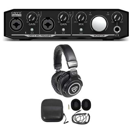 Amazon.com: Mackie Onyx productor 2.2 2 x 2 USB MIDI ...