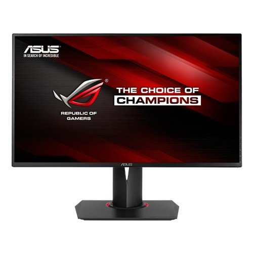ASUS ROG Swift 27-inch 144Hz G-SYNC Gaming 3D Monitor [PG278Q] 1440p, 1ms Rapid Response Time, 2560 x 1440 WQHD Full HD Display with Pivot, Tilt, and Swivel, USB 3.0, Display Port]()