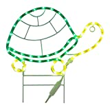 """Best Rope Light For Seasonal Decoratives - Green LongLife 8080124 18"""" Turtle Decorative LED Light Review"""