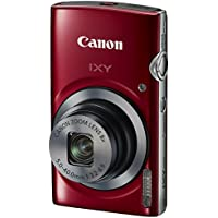 Canon Digital Camera IXY 150 (Red) - International Version