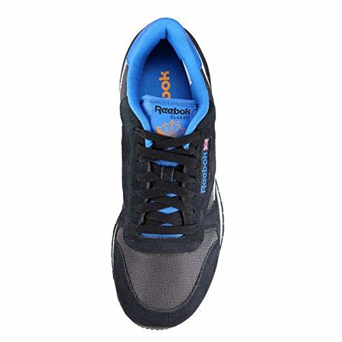 Reebok Classic Sport Clean Scarpe Da Corsa Uomo Nero bianco blu