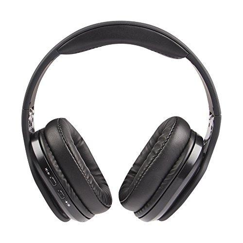 - Altec Lansing MZX667-BLK Evolution2 Waterproof Bluetooth Headphones, Black