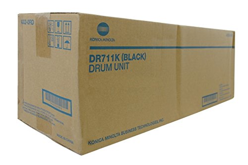 - Genuine Konica Minolta DR711K Black Drum Unit for Bizhub C654 C754