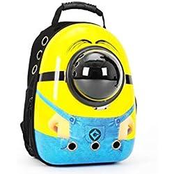 Pet Dog Stroller Luxury Dog Bag Doghouse Outdoor Doggy Bag Dog Hiking Cat Carry Bag Carrier Backpack,O,L1