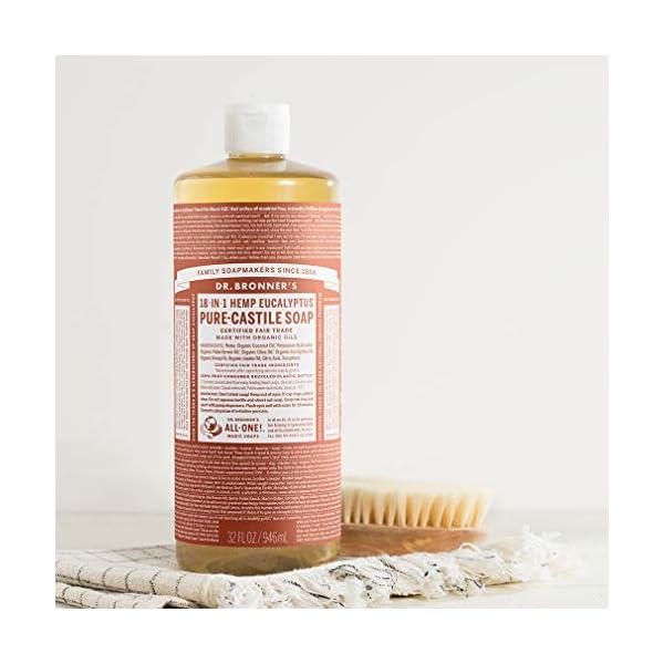 Dr. Bronner's Pure-Castile Liquid Soap – Eucalyptus 32oz.