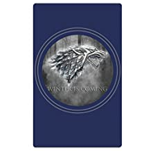 Winter Is Coming Oversized Cool Graphic Travel & Beach Towel - Quick Dry, Lightweight, Absorbent Design For Men And Women