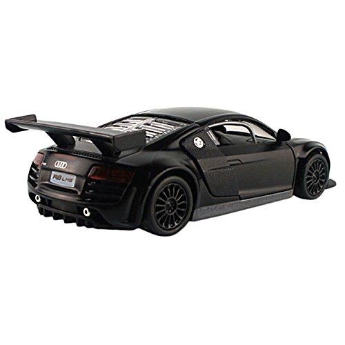 Audi Diecast Cars (Car Toys 1:32 Black Audi Sports Car R8 LMS Model Cars)