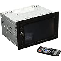 Power Acoustik PD-624B 2-DIN Source Unit With Bluetooth/6.2 LCD