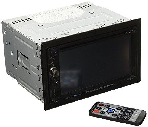 "Power Acoustik PD-624B 2-DIN Source Unit With Bluetooth/6.2"""