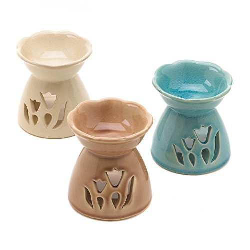 Aint it Nice Spring Tulip Fun Flower Oil Warmer Trio