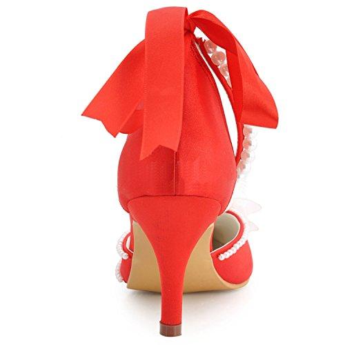 Kevin Fashion Damen Hochzeitsschuhe Rot Rojo Rojo Grosse 43 Maarte De