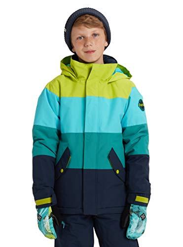 Burton Boys' Symbol Jacket, Tender Shoots Multi, Medium (Burton Red Ski Helmet)