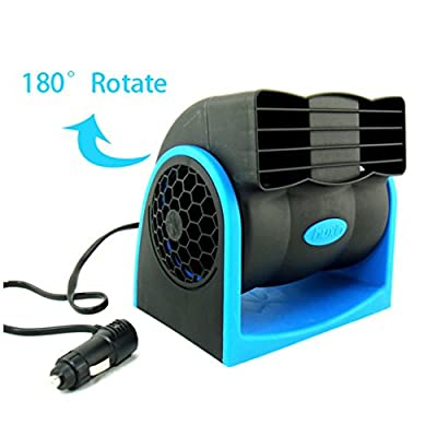 Car Vehicle Truck 12v Mini Portable Cigarette Lighter Cooling Air Fan Conditioner