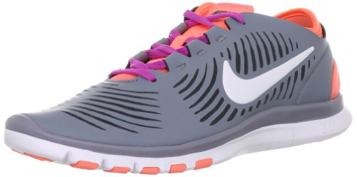 Nike Women's Free Balanza Stealth/White/Anthrct/Atmc Pnk Running Shoes 6 Women US For Sale