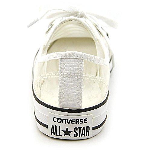 Converse Mens Sneakers Ox In Pelle Scamosciata Con Stelle Chiare