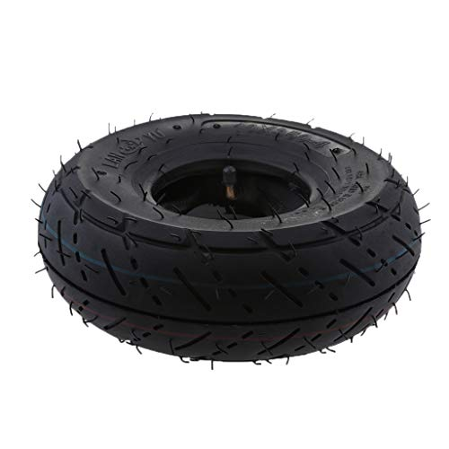 B Blesiya 3.00 x 4 Tread Tire with Inner Tube 49cc 2 Stroke Mini Pocket Dirt Pit Bike -