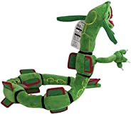 Green Rayquaza Plush Stuffed Soft Doll Toy - 32 Inches Lsmaa